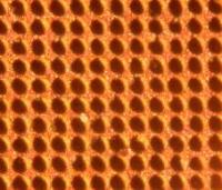30 um etched pattern on copper